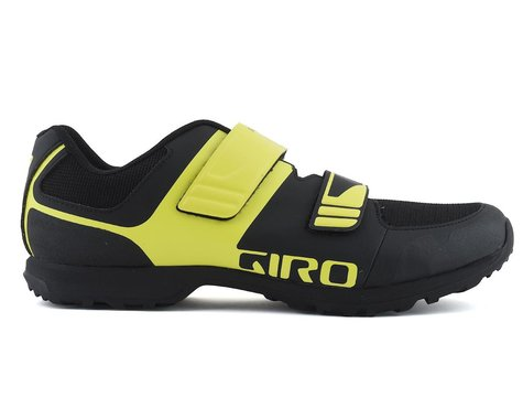 Giro Berm Mountain Bike Shoe (Black/Citron Green) (47)
