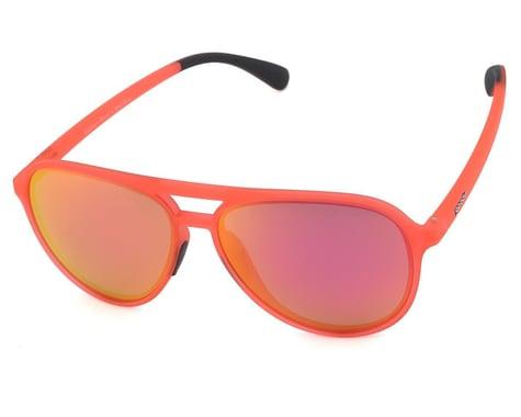 Goodr Mach G Cockpit Optics Sunglasses (Captain Blunt's Red-Eye)