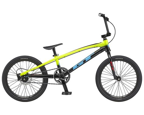"""GT 2021 Speed Series Pro BMX Bike (20.75"""" Toptube) (Nuclear Yellow)"""