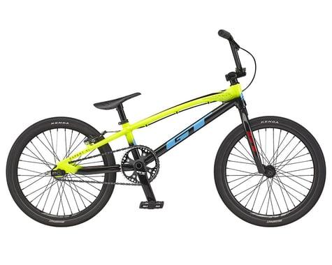 """GT 2021 Speed Series Expert XL BMX Bike (20"""" Toptube) (Nuclear Yellow)"""