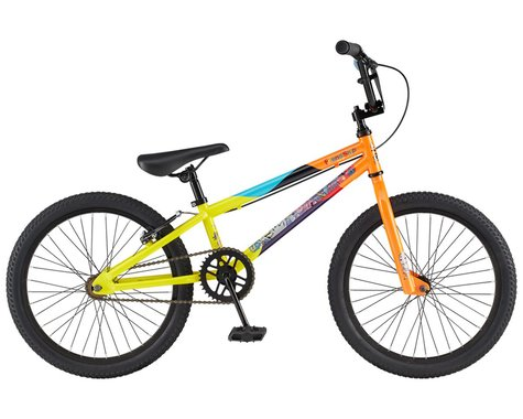"GT 2021 Friend Ship BMX Bike (Gloss Yellow/Orange Fade) (18.5"" Toptube)"