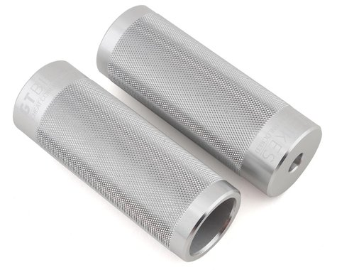 """GT Cheat Code Alloy Pegs (Pair) (Silver) (4"""") (3/8"""" (10mm))"""