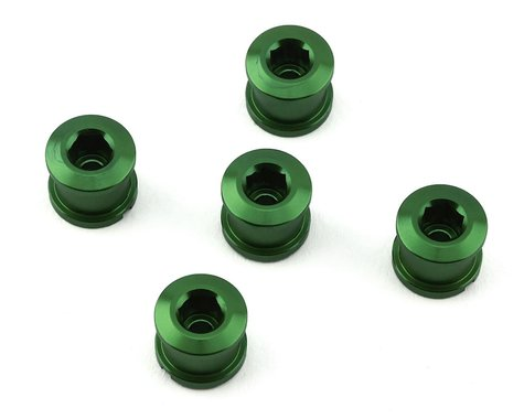INSIGHT Alloy Chainring Bolts (Green) (Long)