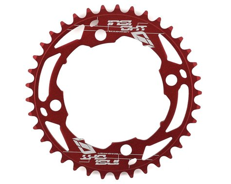 INSIGHT 4-Bolt Chainring (Red) (37T)