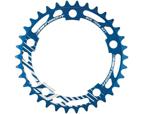 INSIGHT 5-Bolt Chainring (Blue) (34T)