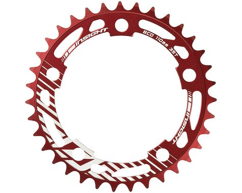 INSIGHT 5-Bolt Chainring (Red) (39T)