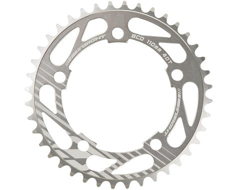 INSIGHT 5-Bolt Chainring (Polished) (42T)