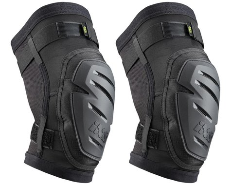 iXS Hack Race Knee Guard (Black) (XL)