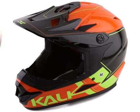 Kali Zoka Switchback Full Face Helmet (Gloss Orange/Fluo Yellow/Black) (XL)