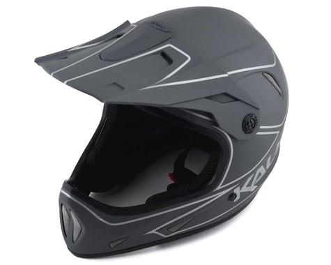 Kali Alpine Rage Full Face Helmet (Matte Grey/Silver) (XL)