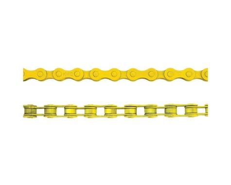 "KMC Z410 1/8"" 1-Speed Chain 112L Yellow"