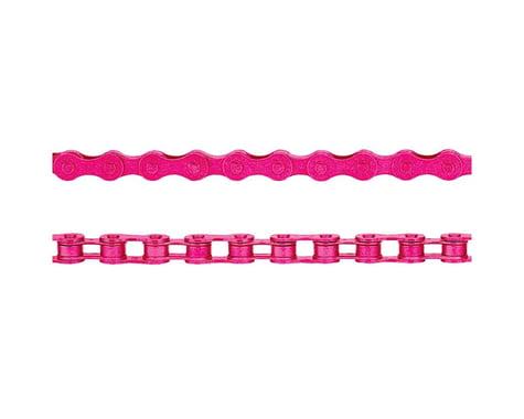"KMC Z410 Chain (Pink) (112 Links) (1/8"")"