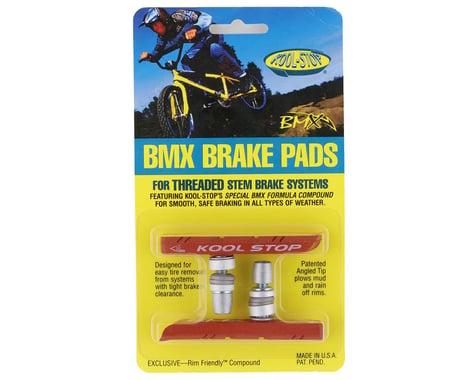 Kool Stop BMX Brake Pads (Threaded) (Salmon) (Pair)
