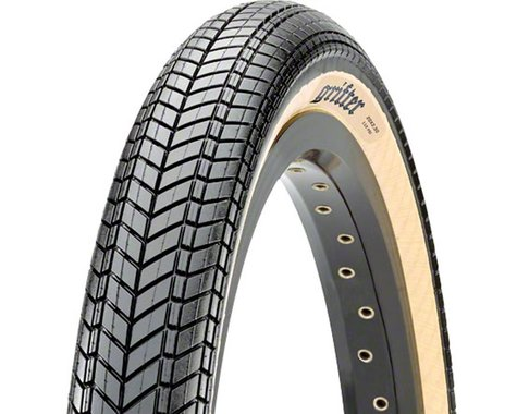 """Maxxis Grifter Dual Compound BMX Tire (Black/Skinwall) (20"""") (2.3"""")"""