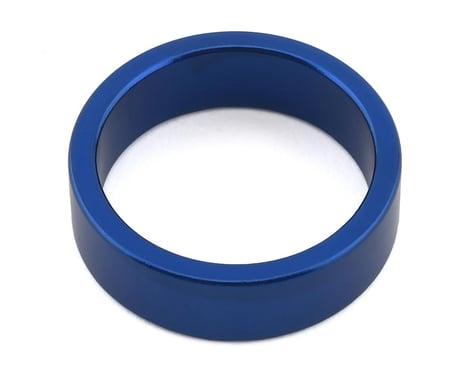 "MCS Aluminum Headset Spacer (Blue) (10mm) (1-1/8"")"