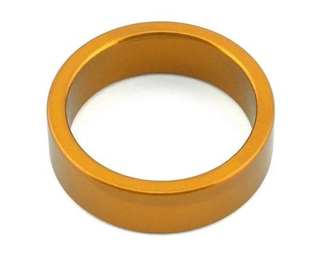 "MCS Aluminum Headset Spacer (Gold) (10mm) (1-1/8"")"