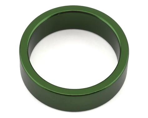 "MCS Aluminum Headset Spacer (Green) (10mm) (1-1/8"")"