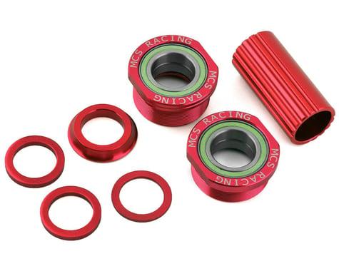 MCS Euro Bottom Bracket Kit (Red) (19mm)