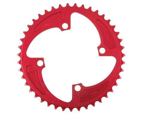 MCS 4-Bolt Chainring (Red) (38T)