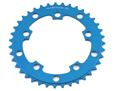 MCS 5-Bolt Chainring (Blue) (39T)