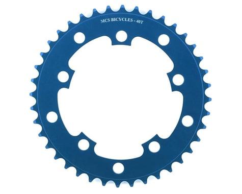 MCS 5-Bolt Chainring (Blue) (40T)