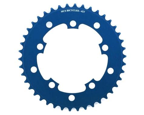 MCS 5-Bolt Chainring (Blue) (42T)
