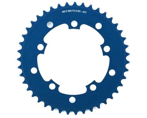 MCS 5-Bolt Chainring (Blue) (43T)