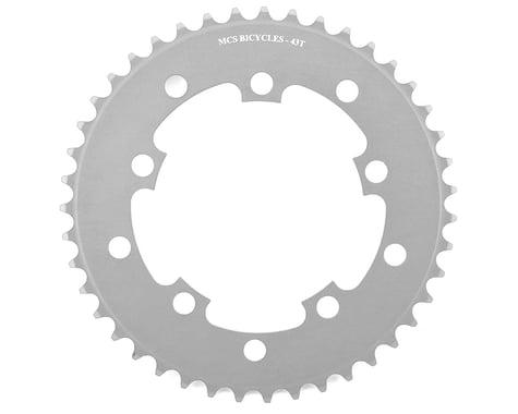 MCS 5-Bolt Chainring (Silver) (43T)