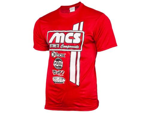 MCS Short Sleeve T-Shirt (Red) (XL)