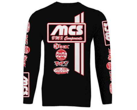 MCS Long Sleeve Jersey (Black) (XL)