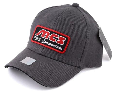 MCS BMX Components Logo Hat (Grey) (One Size Fits Most)