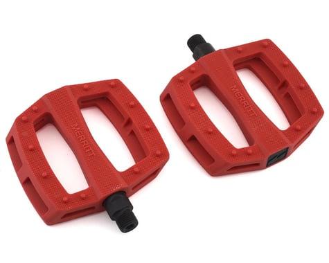 """Merritt P1 PC Pedals (Brick Red) (9/16"""")"""