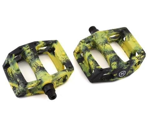 "Mission Impulse PC Pedals (Black/Yellow Splash) (9/16"")"