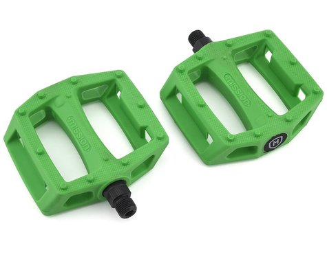 """Mission Impulse PC Pedals (Kelly Green) (9/16"""")"""