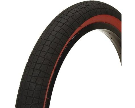 "Mission Fleet Tire (Black/Red) (20"") (2.4"")"