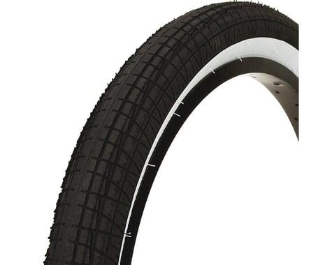 "Mission Fleet Tire (Black/White) (20"") (2.4"")"