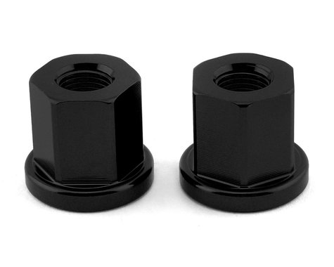 """Mission Alloy Axle Nuts (Black) (3/8"""")"""