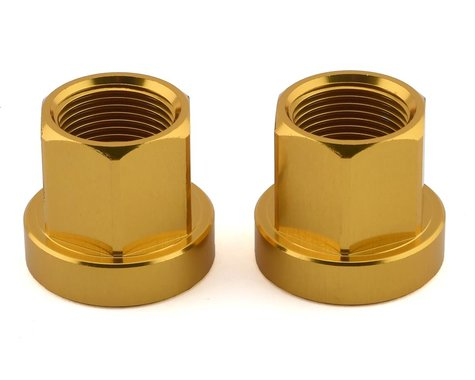 Mission Alloy Axle Nuts (Gold) (14mm)