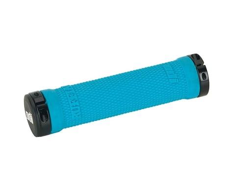 ODI Ruffian Lock-On Grips (Aqua) (130mm)