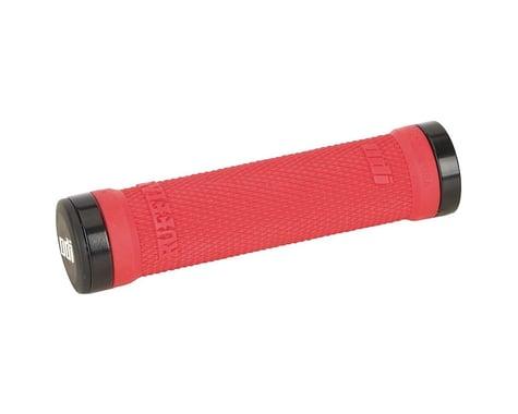ODI Ruffian Lock-On Grips (Bright Red) (130mm)