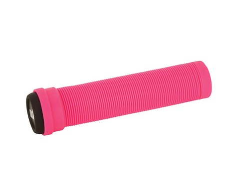 ODI Longneck Soft Compound Flangeless Grips (Pink) (135mm)