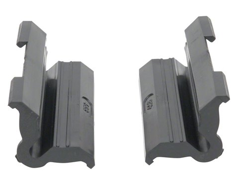 Park Tool 468G Rubber Clamp Cover w/ Double Cable Grooves (Pair)
