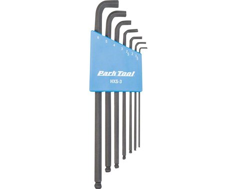 Park Tool HXS-3 Stubby Hex Wrench Set (1.5-6mm)