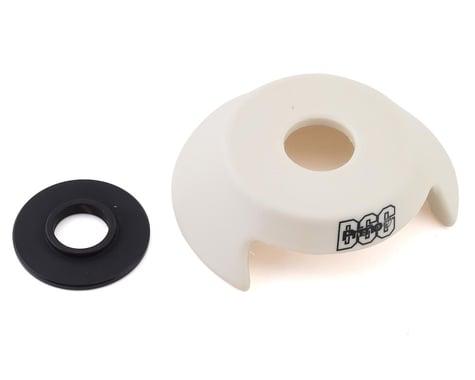 Primo Drive Side Hub Guard (Plastic) (White) (Rear) (14mm)