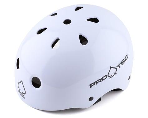 Pro-Tec Classic Skate Helmet (Gloss White) (L)