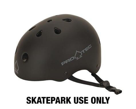 Pro-Tec Classic Skate Helmet (Matte Black) (M)