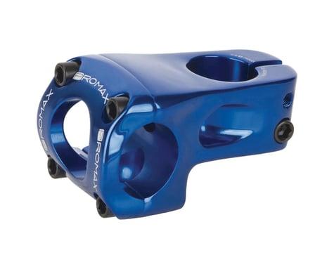 Promax Banger 53mm Front Load Stem +/- 0 degree for 31.8mm Bars Blue