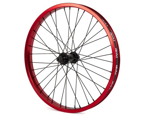 Rant Party On V2 Front Wheel (Red) (20 x 1.75)