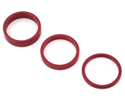 "Rant Stack Em Headset Spacer Kit (Red) (1-1/8"")"