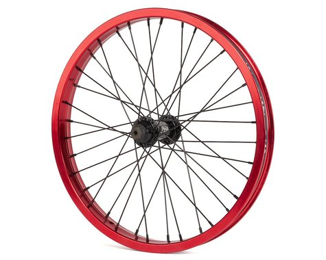 """Rant Party On V2 18"""" Front Wheel (Red) (18 x 1.75)"""